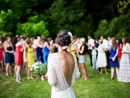 Outdoor weddings offer unlimited potential
