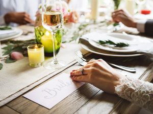 Creating the perfect reception seating plan